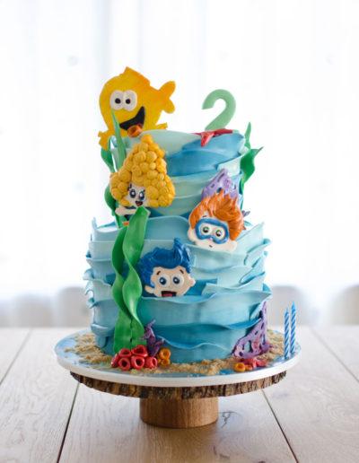 Bubble-Guppies-Birthday-Cake