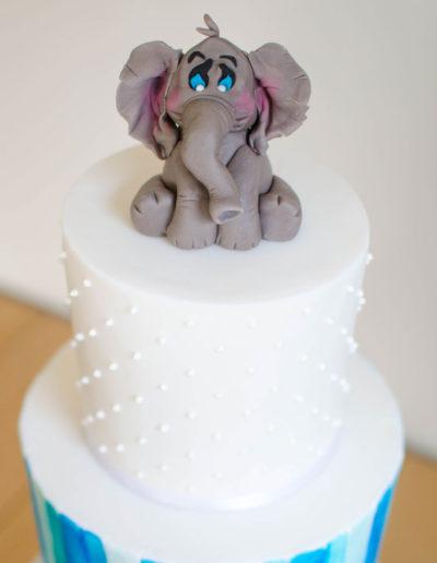Elephant-Cake-Topper