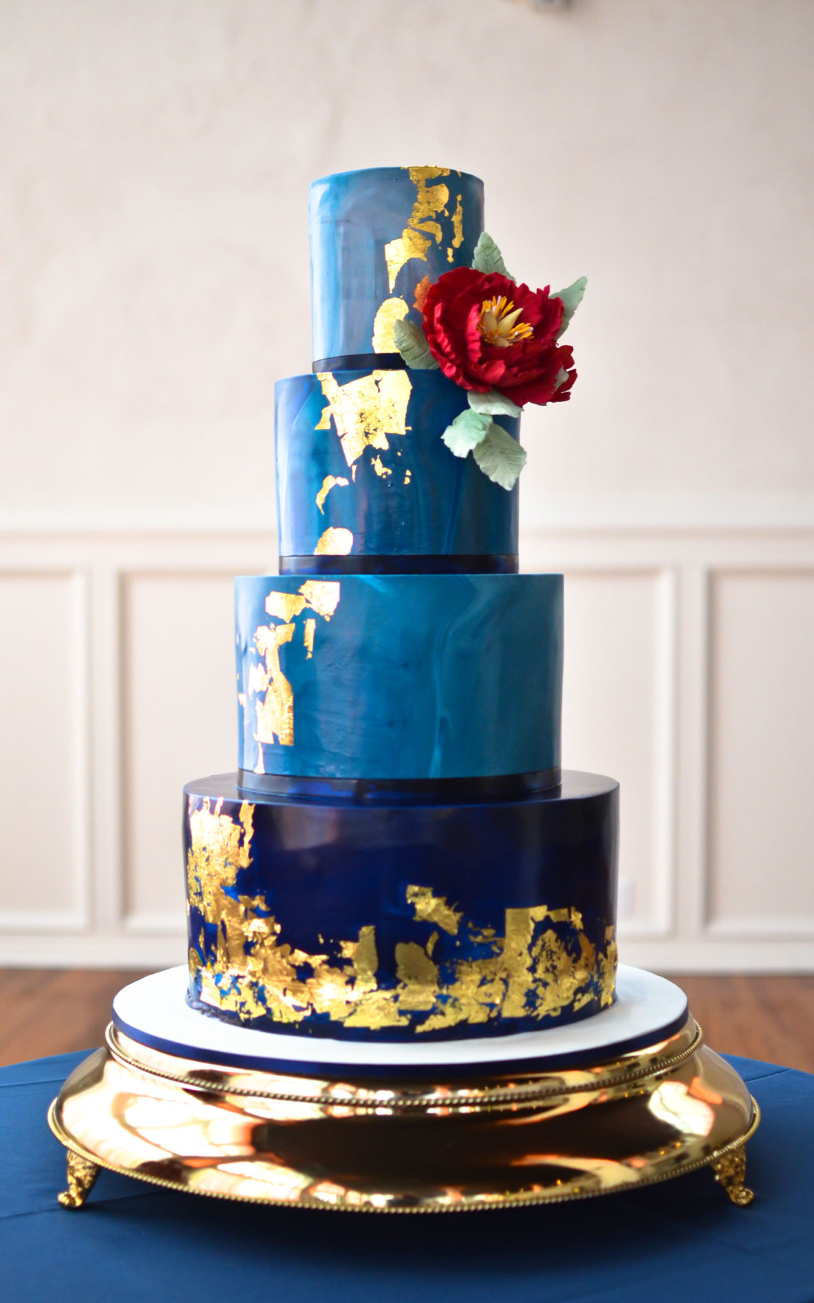Custom St  Louis Wedding Cakes - Kaked By Katie