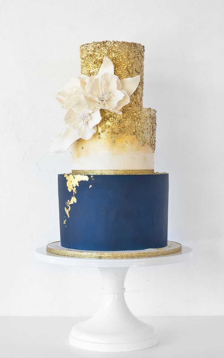 Custom St Louis Wedding Cakes Kaked By Katie